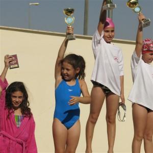 אגם קרלגנו מקום 4 כללי - בנות גיל 8