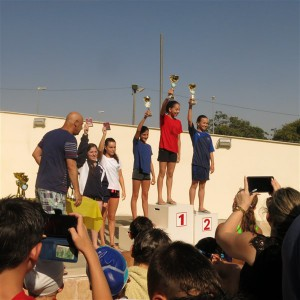 הילי אברמוביץ מקום 4 כללי - בנות גיל 13